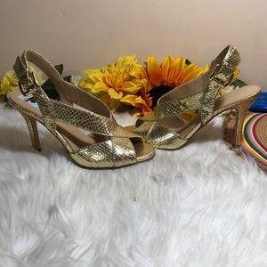 MICHAEL Michael Kors Shoes - Michael Michael Kors Leather Open Toe Sandals 7.5